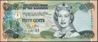Bahamy (P 68) - 1/2 dollar (2001) - UNC