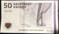 Dánsko - (P 65 f) 50 Kroner (2013) - UNC
