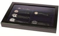 Dřevěná vitrína na 8 ks náramkových hodinek SAFE