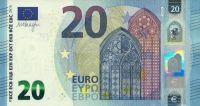 EURO (P 22u - Francie) 20 EURO (2015) - UNC (sér. UB)