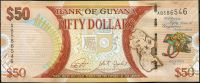 Guyana (P 41) - 50 dolarů (2016) - UNC - pamětní