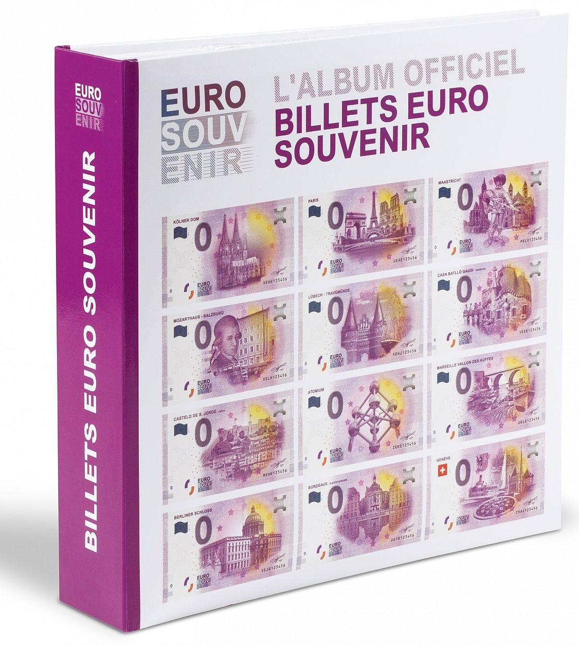 """Leuchtturm album na 200 ks EURO """"SUVENÝR"""" bankovek"""