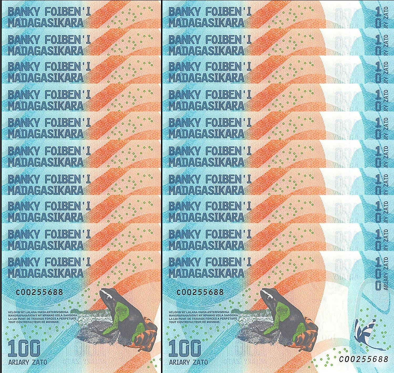 20x - Madagaskar - (P 97) 100 Ariary (2017) - UNC