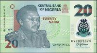 Nigerie - (P41 L) 20 NAIRA (2016) - UNC