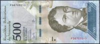 Venezuela (P 94b) - 500 bolivares (23.3.2017) - UNC