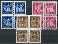 (1944) č. 113-115 ** B.ü.M - 4-bl - 5. výročí vzniku Protektorátu