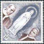 (1958) MiNr. 590 ** - Monako - 100. výročí marianského zjevení v Lourdes