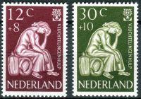 (1960) MiNr. 744 - 745 ** - Nizozemsko - Světový rok uprchlíků 1959/60