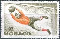 (1963) MiNr. 746 ** - Monako - 100 let britské fotbalové asociace;