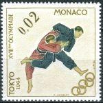 (1964) MiNr. 785 ** - Monako - Letní olympijské hry, Tokio