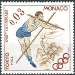 (1964) MiNr. 786 ** - Monako - Letní olympijské hry, Tokio