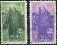 (1965) MiNr. 1565 - 1566 O - Španělsko - Europa - razítko
