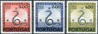 (1967) MiNr. 1040 - 1042 ** - Portugalsko - Evropský kongres revmatologů, Lisabon