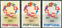 (1967) MiNr. 1043 - 1045 ** - Portugalsko - Zrušení celních bariér mezi zeměmi EFTA
