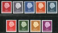 (1967) MiNr. 621 - 629 ** - Nizozemsko - Královna Juliana