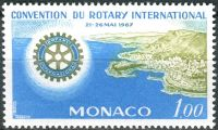 (1967) MiNr. 866 ** - Monako - Kongres Rotary International