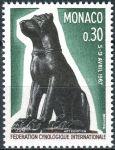 (1967) MiNr. 872 ** - Monaco - Internationaler Hundeforscherkongress