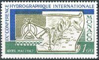 (1967) MiNr. 873 ** - Monaco - 9. Internationale Konferenz für Hydrographie in Monaco