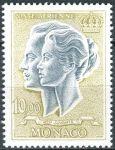 (1967) MiNr. 878 ** - Monaco - Fürstenpaar
