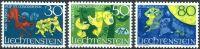 (1968) MiNr. 497 - 499 ** - Lichtenštejnsko - Povídky (II)