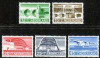(1968) MiNr. 894 - 898 ** - Nizozemsko - Letní známky ve prospěch sociální a kulturní péče: mosty