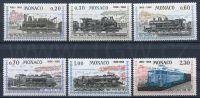 (1968) MiNr. 896 - 901 ** - Monako - lokomotivy