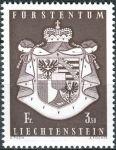 (1969) MiNr. 506 ** - Lichtenštejnsko - Státní znak