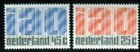(1969) MiNr. 912 - 913 ** - Nizozemsko - 50 let Mezinárodní organizace práce (ILO)