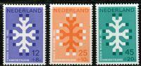 (1969) MiNr. 923 - 925 ** - Nizozemsko - 20 let fondu Královny Wilhelminy (KWF) pro boj proti rakovi