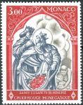 (1969) MiNr. 927 ** - Monako - Červený kříž v Monaku