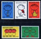 """(1969) MiNr. 928 - 932 ** - Nizozemsko - """"Voor het Kind"""": Výkresy Dicka Bruna"""