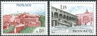 (1969) MiNr. 936 - 937 ** - Monako - konstrukce