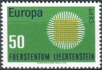 (1970) MiNr. 525 ** - Lichtenštejnsko - Europa