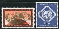 (1970) MiNr. 9 - 10 ** - OSN Ženeva - OSN znak