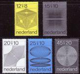 (1970) MiNr. 936 - 940 ** - Nizozemsko - Letní známky ve prospěch sociální a kulturní péče: počítačo