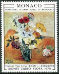 (1970) MiNr. 973 ** - Monako - Mezinárodní soutěž květinových vazeb, Monte Carlo