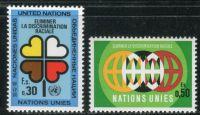 (1971) MiNr. 19 - 20 ** - OSN Ženeva - Mezinárodní rok proti rasové diskriminaci