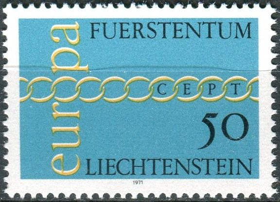 (1971) MiNr. 545 ** - Lichtenštejnsko - Europa