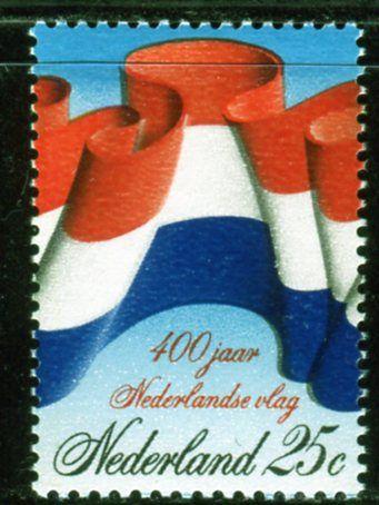 (1972) MiNr. 1000 ** - Nizozemsko - 400 let národní vlajka (II)