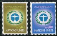 (1972) MiNr. 25 - 26 ** - OSN Ženeva - Konference OSN o ochraně životního prostředí, Stockholm