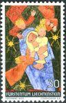 (1972) MiNr. 578 ** - Lichtenštejnsko - Vánoce