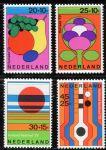 (1972) MiNr. 983 - 986 ** - Nizozemsko - Letní známky ve prospěch sociální a kulturní péče: zahradní