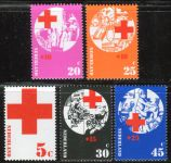 (1972) MiNr. 994 - 998 ** - Nizozemsko - Červený kříž