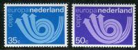 (1973) MiNr. 1011 - 1012 ** - Nizozemsko - Europa
