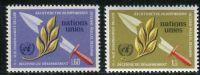 (1973) MiNr. 30 - 31 ** - OSN Ženeva - odzbrojení desetiletí