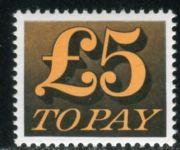 (1973) MiNr. 86 ** - Velká Británie - Poštovné - číslice