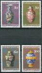 (1974) MiNr. 602 - 605 ** - Lichtenštejnsko - Z knížecího domu (II): čínský porcelán