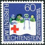 (1975) MiNo. 629 ** - Liechtenstein - 30 years Liechtenstein Red Cross