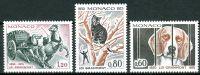 (1975) MiNr. 1204 - 1206 ** - Monako - 125 let Grammontova zákona o dobrých životních podmínkách zví