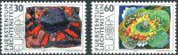 (1975) MiNr. 623 - 624 ** - Lichtenštejnsko - Europa: obrazy